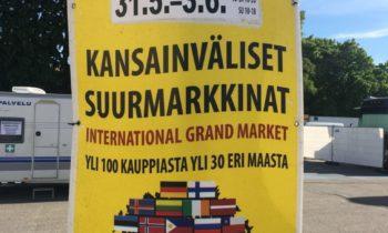 Kansainväliset Suurmarkkinat Vantaa 31.5.- 3.6.2018