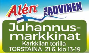 Alen & Auvinen Juhannusmarkkinat TORSTAINA 21.6.2018 Karkkilassa