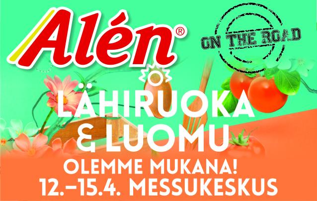 12.-15.4.2018 Lähiruoka & Luomu – messut