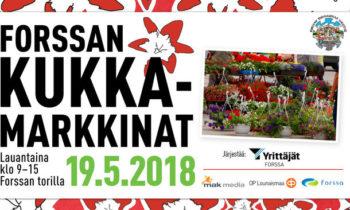 Forssan Kukkamarkkinat 19.5.2018