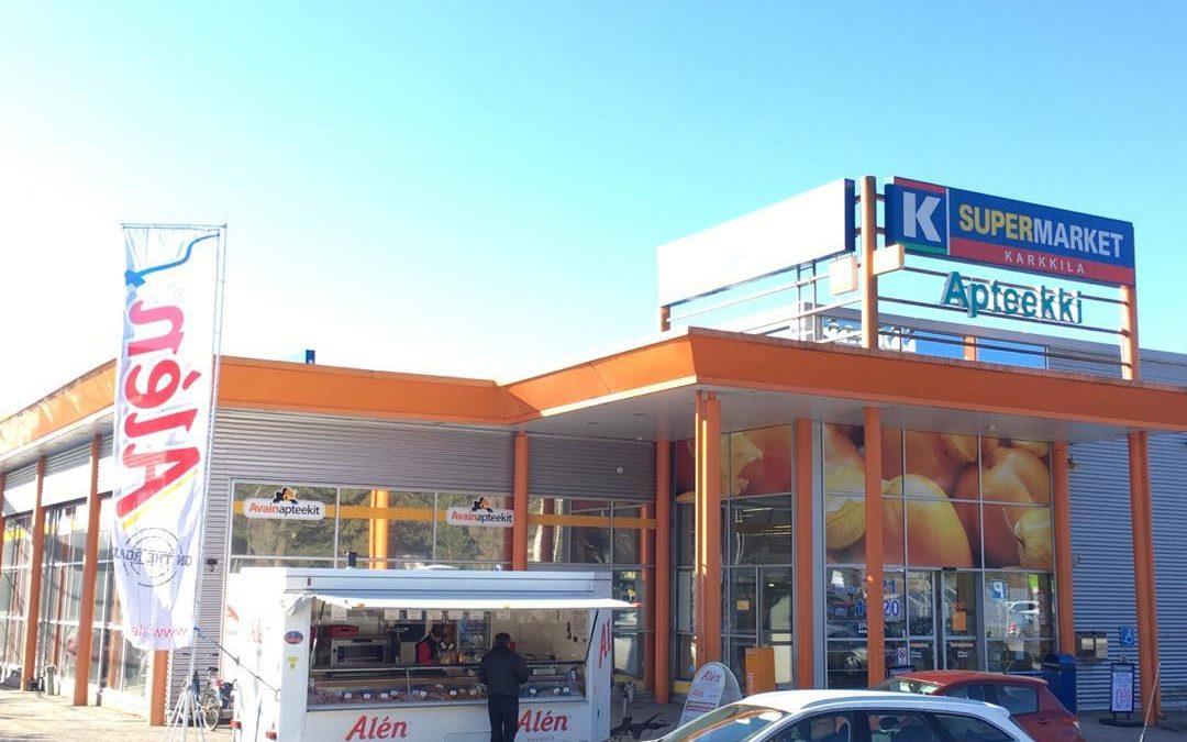 K-Supermarket Karkkila 22.-23.3.2019