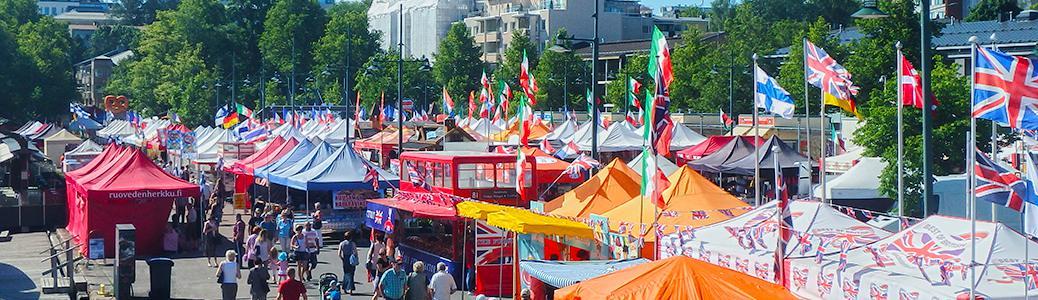 Forssan Kansainväliset Suurmarkkinat 14.- 17.6.2018