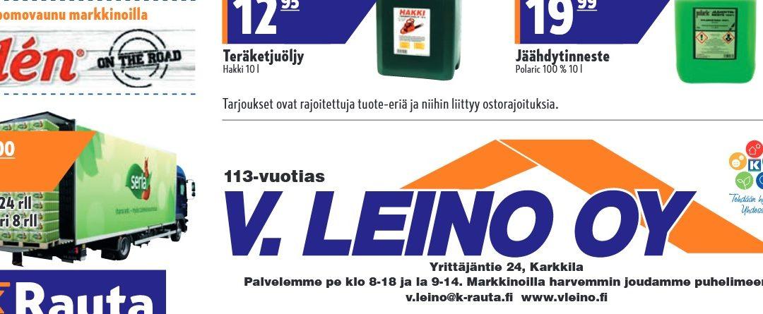 Leinon Markkinat 12.-13.10.2018