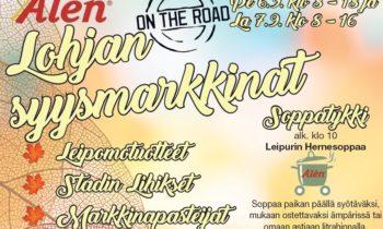 Lohjan Syysmarkkinat 6.-7.9.2019