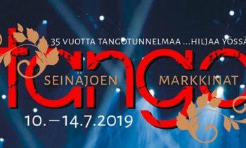 Seinäjoen Tangomarkkinat 10.-14.7.2019