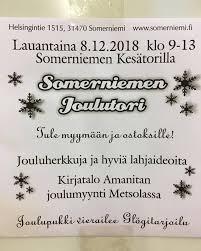 Somerniemen Joulutori 8.12.2018