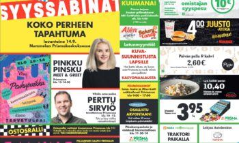 Syyssäbinät Prisma Nummela 14.9.2019
